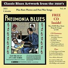CLASSIC BLUES ARTWORK FROM THE 1920s - 2021 Calendar