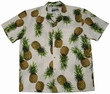 ORIGINAL HAWAIIHEMD - MAUI PINEAPPLE - WEISS - WAIMEA CASUAL