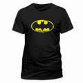 BATMAN T-SHIRT DISTRESSED LOGO