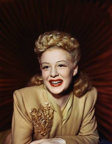 Betty Hutton - Posing