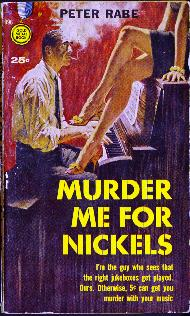 Pulp Fiction Covers - Murder me for nickels