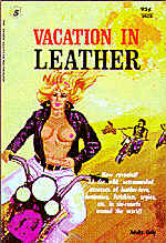 Pulp Fiction Covers - Vacation in Leather