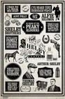 PEAKY BLINDERS POSTER INFOGRAPHIC