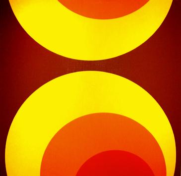 7013 12 - Retro Tapete Kreise