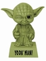STAR WARS WACKELKOPF-FIGUR YODA - YODA' MAN! Headknocker